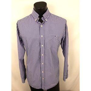 Vineyard Vines Button Up Shirt Tucker Whale Slim L